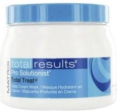 Kup Głęboko nawilżająca kremowa maska do włosów - Matrix Total Results Pro Solutionist Total Treat Deep Cream Mask