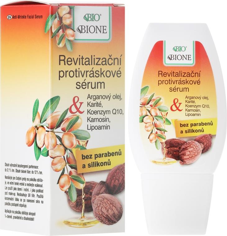 Rewitalizujące serum do twarzy z olejem arganowym i masłem shea - Bione Cosmetics Argan Oil Serum