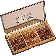 Kup Paletka rozświetlaczy do twarzy - Makeup Revolution Shimmer Brick Palette