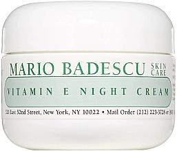 Kup Krem na noc z witaminą E - Mario Badescu Vitamin E Night Cream