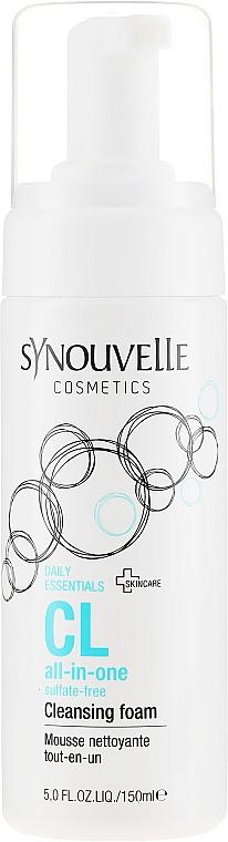 Oczyszczająca pianka do mycia twarzy - Synouvelle Cosmectics CL All-In-One Cleansing Foam — фото N2