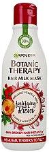 Kup Wzmacniająca maska do włosów osłabionych - Garnier Botanic Therapy Hair Milk Mask