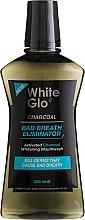 Kup Płyn do płukania jamy ustnej zwalczający nieprzyjemny zapach - White Glo Charcoal Bad Breath Eliminator Mouthwash