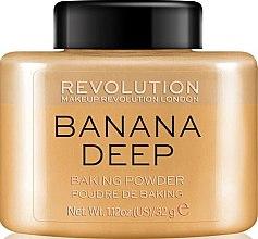 Kup Sypki puder bananowy do twarzy - Makeup Revolution Banana Deep Baking Powder