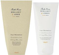 Kup Nawilżający krem do twarzy dla mężczyzn Bergamotka i bursztyn - Bath House Bergamot & Amber