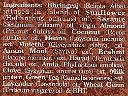 Ziołowy olej Bhringraj - Indus Valley Bio Organic Ayurveda Bhringraj Oil — фото N3