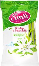 Kup Chusteczki nawilżane, Bambus, 15szt - Smile Ukraine
