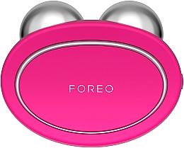Kup Urządzenie do masażu i wzmocnienia skóry twarzy, fuksja - Foreo Bear Fuchsia