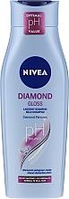 Kup Szampon nadający blask do włosów matowych - Nivea Hair Care Diamond Gloss Shampoo
