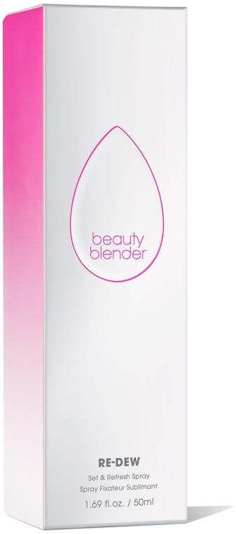 Odświeżający spray do utrwalania makijażu - Beautyblender Re-Dew Set & Refresh Spray — фото N2