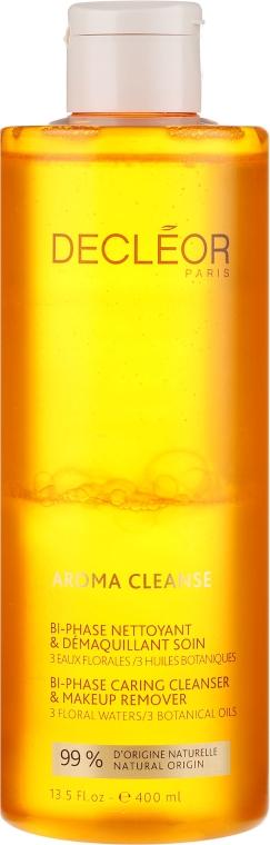 Dwufazowy płyn do mycia i demakijażu twarzy i oczu - Decleor Aroma Cleanse Bi-Phase Caring Cleanser & Make Up Remover — фото N1