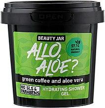 Kup Nawilżający żel pod prysznic z zieloną kawą i aloesem - Beauty Jar Allo, Aloe? Hydrating Shower Gel