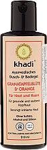Kup Szampon-żel pod prysznic i do kąpieli Kwiaty granatu i pomarańczy - Khadi Pomegranate & Orange Bath & Body Wash