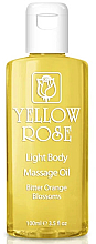 Kup PRZECENA! Olejek do ciała - Yellow Rose Light Body Massage Oil Bitter Orange Blossoms *
