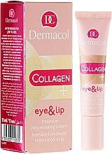 Kup Intensywnie odmładzający krem do okolic oczu i ust - Dermacol Collagen+ Eye & Lip Cream