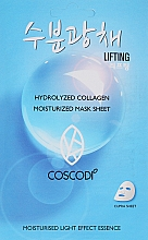Kup Nawilżająca maska kolagenowa - Coscodi Hydrolyzed Collagen Moisturized Mask Sheet