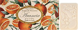 Kup Zestaw mydeł w kostce Pomarańcza - Saponificio Artigianale Fiorentino Orange (3 x soap 125 g)