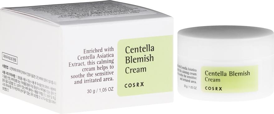 Kojący krem do twarzy z wąkrotą azjatycką - Cosrx Centella Blemish Cream — фото N1