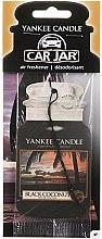 Kup Zapach do samochodu - Yankee Candle Car Jar Black Coconut Air Freshener