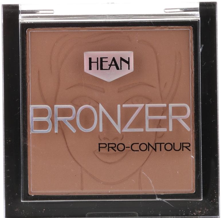Bronzer do twarzy - Hean Pro-contour Bronzer