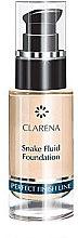 Kup Tonujący fluid ujędrniający do twarzy - Clarena Snake Fluid Foundation