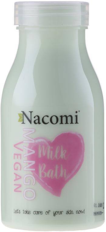 Wegańskie mleczko do kąpieli Mango - Nacomi Milk Bath Mango