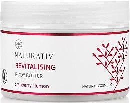 Kup Rewitalizujące masło do ciała Żurawina i cytryna - Naturativ Revitalising Body Butter