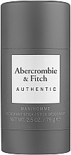 Kup Abercrombie & Fitch Authentic Men - Dezodorant w sztyfcie