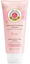 Kup Perfumowany krem pod prysznic Róża - Roger & Gallet Rose Gentle Shower Cream Relaxing