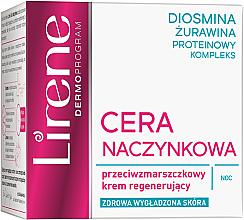 Kup Przeciwzmarszczkowy krem regenerujący na noc - Lirene Cera naczynkowa