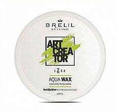 Kup Utrwalający wosk do włosów na bazie wody - Brelil Art Creator Natural Aqua Wax