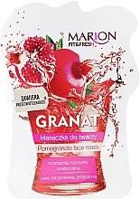 Kup Maseczka do twarzy Granat - Marion Fit & Fresh Pomegranate Face Mask