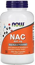 Suplement diety NAC, 600 mg - Now Foods NAC Veg Capsules — фото N4