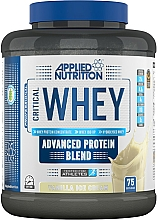 Kup Mieszanka białek serwatkowych o smaku lodów waniliowych - Applied Nutrition Critical Whey Advanced Protein Blend Vanilla Ice Cream