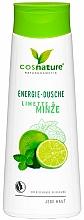 Kup Orzeźwiający żel pod prysznic limonka i mięta - Cosnature Shower Gel Energy Mint & Lime