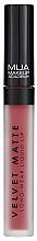Kup Matowa pomadka w płynie - MUA Academy Velvet Matte Long-Wear Liquid Lip