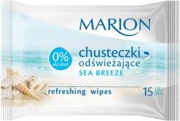 Kup Chusteczki odświeżające Sea Breeze, 15 szt. - Marion