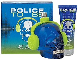 Kup Police To Be Mr Beat - Zestaw (edt 75 ml + sh/gel 100 ml)