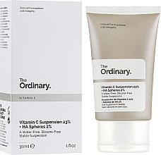 Kup Serum do twarzy z 23% witaminą C i 2% kwasem hialuronowym - The Ordinary Vitamin C Suspension 23% + HA Spheres 2%