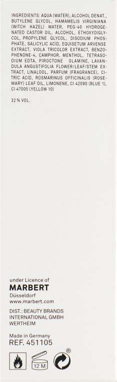 Oczyszczający balsam do skóry tłustej przeciw zaskórnikom - Marbert Pura Clean Regulating Lotion — фото N3