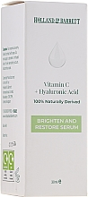 Kup Serum do twarzy z witaminą C i kwasem hialuronowym - Holland & Barrett Vitamin C + Hyaluronic Acid Serum