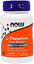 Suplement diety Teina w proszku - Now Foods L-Theanine Pure Powder — фото N1
