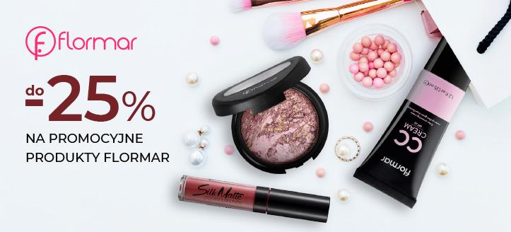 Zniżka do -25% na promocyjne produkty Flormar. Сeny uwzględniają zniżkę.