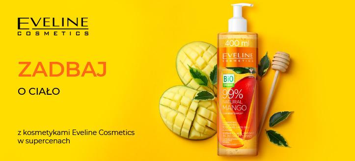 Zniżka -5% na wybrane produkty do pielęgnacji ciała Eveline Cosmetics. Ceny na stronie zawierają rabat.
