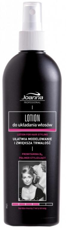 Lotion do układania włosów - Joanna Professional