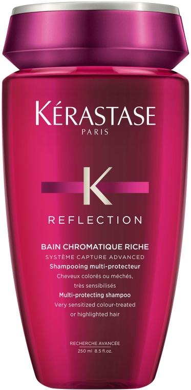 Kąpiel do włosów farbowanych i uwrażliwionych - Kérastase Reflection Bain Chromatique Riche Shampoo