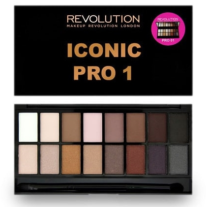 Paleta cieni do powiek - Makeup Revolution Salvation Eyeshadow Palette Iconic Pro 1