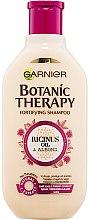 Kup Szampon do włosów osłabionych i łamliwych Olejek rycynowy i migdał - Garnier Botanic Therapy Ricinus Oil & Almond
