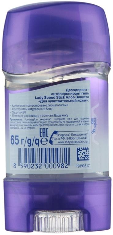 Aloesowy dezodorant-antyperspirant w żelu - Lady Speed Stick Deodorant — фото N4