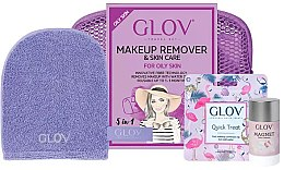 Kup Zestaw akcesoriów do demakijażu - Glov Makeup Remover For Oily Skin (glove mini + glove + stick 40 g)